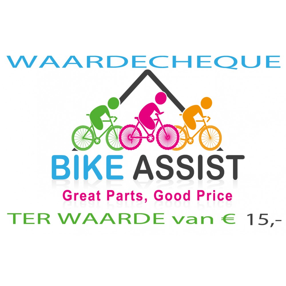 Bike Assist Waarde Cheque