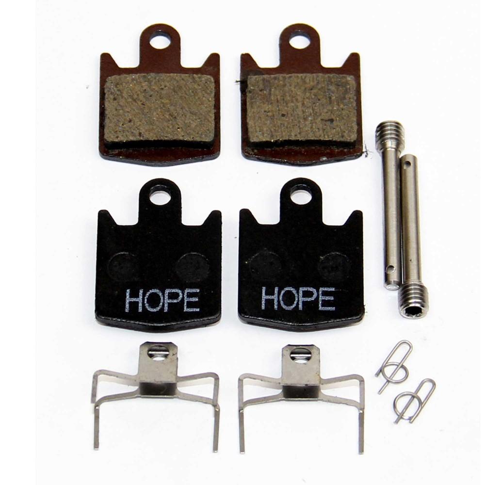 Hope Tech Remblokken DH4 & Old E4 / M4 Resin/Standaard Set