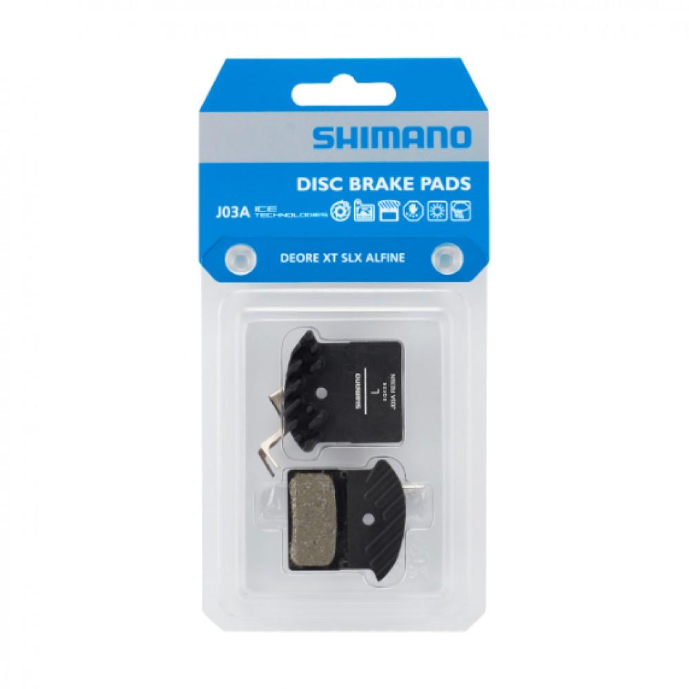 Shimano J03A remblokken met koelvin
